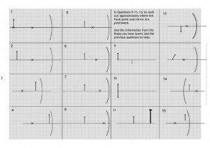 concave mirrors - worksheet