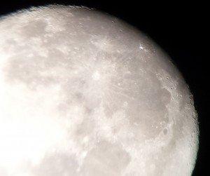 Moon 11 Crater Impat Barlow Lens